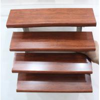 China Architectural Aluminum Sun Shade Louvers Wood Grain Color Exterior Screen System wholesale