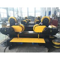 China Black Painting Tank Turning Rollers With 80 Ton Capacity , Coated With PU Wheels wholesale