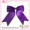 China Grosgrain Ribbon Material Gift Wrap Bows Purple / Pink big Ribbon Bows wholesale