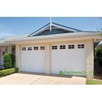 China Detached garage,automatic sectional insulated garage door, Remote control sectional residential garage door for sale wholesale