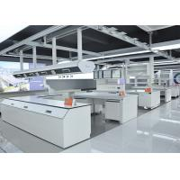Buy cheap Chemical Resistant Grey Modular Laboratory Furniture WithLarge Sink Cabinet And Desks from wholesalers
