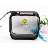 China Clear Plastic EVA Cosmetic Bag , Customized Plastic Makeup Bag With 15*15*6 CM wholesale