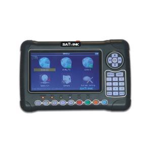 China Satlink WS 6980 Digital Satellite Meter , Fully DVB Satellite Signal Meter With Mer Spectrum Analyzer wholesale