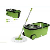 China Plastic Powerful Cleaning 360 Rotating Mop , Clean Spin 360 Microfiber Mop wholesale