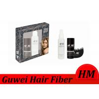 China Flexible Instant Hair Building Fiber Brown Color With Spray Applicator wholesale