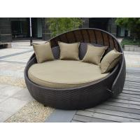China Indoor Office / Home Resin Wicker Daybed With Aluminium Frame wholesale