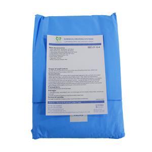 China Disposable Sterile Medical Universal Lithotomy Laparoscopy Drape Pack Sterile Surgical Equipment wholesale