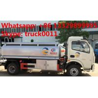 China factory sale dongfeng fuel tank truck with competitive price, 2017s best price CLW 5000Liters oil dispensing truck wholesale