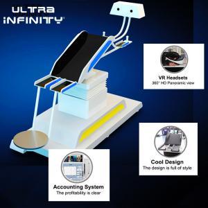 China Thrilling 9D VR Flight Simulator Electric Platform / Virtual Reality Game Machine wholesale