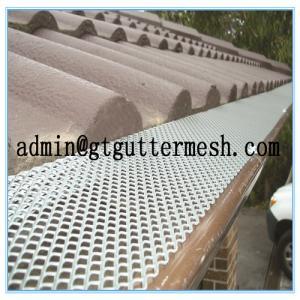 China Aluminium Gutter Guard on sale
