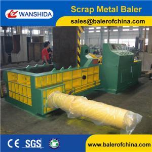 China Wanshida 160ton Non ferrous Side push out metal baler press export to South Africa wholesale