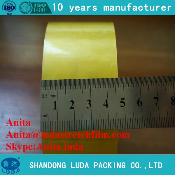Quality luda clear crystal self adhesive carton packingadhesive tape making for sale