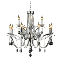 China Modern Luxury Living Room Hotel Crystal Decoration Chandelier NC1244p-12 wholesale