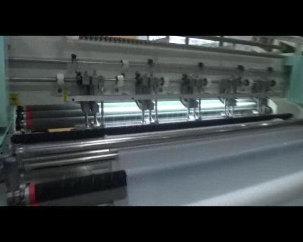 Quality Shuttle High Speed Quilting Machine , Multi Needle Quilting Machine Easy Loading Fabric for sale