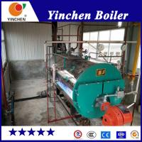 China Laundry Diesel Steam Boiler / Natural Gas Fired Boiler Remote PLC Control wholesale