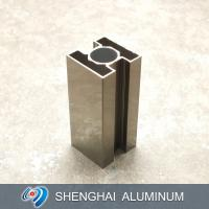 China Light Champagne Polish High Quality Surface Treatment Aluminum Profile for Decoration on sale