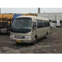 China Cheap Japanese Toyota Coaster used small school/tourist/luxury bus, used gasoline mini van bus for sale on sale