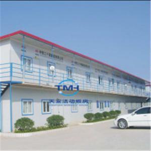 China Double Storey EPS Sandwich Panel Prefab House prefabricated house wholesale