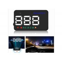 3.5 Inch Audi A5 Mini Head Up Display A5 GPS LED HUD Display Speed Compass