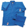 China Blue Lightweight GI Karate Uniform , Elastic Waist with Drawstring wholesale