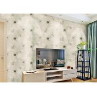 China Removable Non Woven Living Room Wallpaper 0.53*10m with American Style , SoundProof on sale