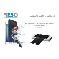China 2.5D Premium Real Tempered Glass Screen Protector for iPhone 5 wholesale