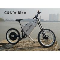 China Lightweight Outdoor Sports Off Road Electric Bike , Electric Powered Bicycle wholesale