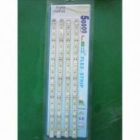 China 5m white SMD LED strips, available in IP20, IP44, IP65 and IP68 waterproof ratings wholesale