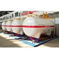 China 10CBM / 10000 Liters LPG Gas Storage Tank With Dispenser Equipments And Scales wholesale