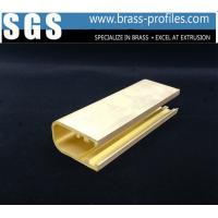 China 33mm x 25mm x 2mm Brass U Channel Stock For Home Restaurant Decoration on sale