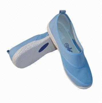 Quality white blue gray Cleanroom Antistatic Non-Hole Shoes for sale