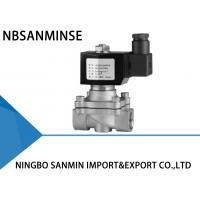 China Z4 Stainless Steel Solenoid Valves For Water , Direct Acting Solenoid Valve wholesale