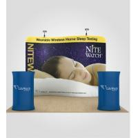 Recyclable Foldable Tension Fabric Displays Aluminum Frame Eco friendly