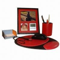 China Business Gift Set, Made of PU Leather wholesale