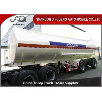 China Mechanical spring suspension fuel tank trailer oil semi truck for sale wholesale