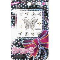 Buy cheap Custom Butterfly design 17.3 cool mini laptop notebook skin sticker cover with printing from wholesalers