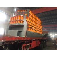 China Scrap Metal Automatic Shear Machine Control Carried Out By Grabber Crane Operator on sale