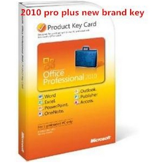 Microsoft Office 2010 Product Key Card For M