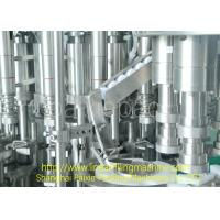 China Energy Saving 3 In 1 Filling Machine Syrup Glass Bottle Production Line Multifunctional wholesale