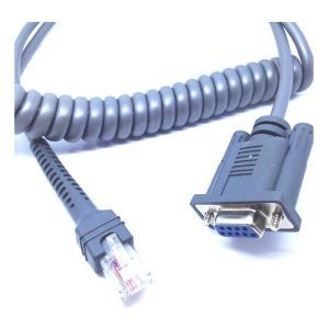 China cable del cable RS232 del símbolo 7ftCoiledMotorola para el uso con los escáneres LS2208 y LS4208 de LS1203 wholesale
