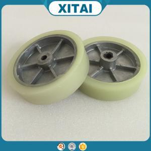 China La fábrica de alta calidad suministró las ruedas no-planas de la carretilla de la mano de la PU del material del poliuretano wholesale