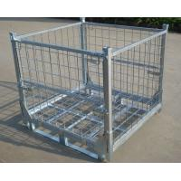 Welded Wire Mesh Storage Container With High Duty