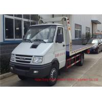 China IVECO Diesel Engine Wrecker Tow Truck , Flatbed Breakdown Recovery Truck on sale