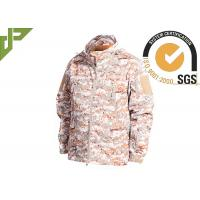 China Warm Military Tactical Jackets Digital Desert Color , Winter Law Enforcement Outerwear wholesale