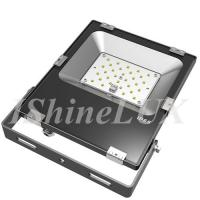 China Slimline 30 Wattage Outdoor LED Flood Lights Meanwell Driver Integrated Housing wholesale
