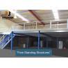 China Flexible Mezzanine Platform System With Stairway Capacity 500kg - 4000kg/Sqm wholesale