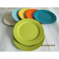 China Eco Bamboo Fiber Dinnerware Plate on sale