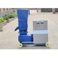 China Energy Saving Flat Die Wood Pellet Mill Machine , Sawdust Processing Machine on sale