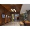 High Density Wood Plastic Composite Decorative Board Durable No Pollution