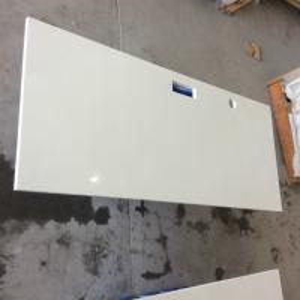 China Solid White Quartz Kitchen Countertops , Engineered Granite Countertops on sale